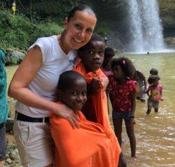 Elena, volontaria della Fondazione e accompagnatrice campus