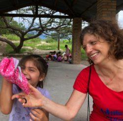 Valeria, madrina e partecipante al Campus in Honduras
