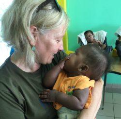 Marina, partecipante al Campus in Haiti