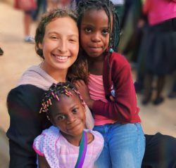 Alejandra, partecipante al Campus in Haiti