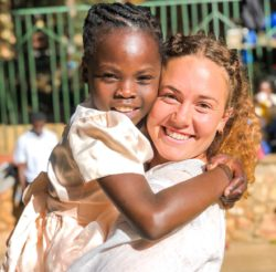 Martina, partecipante al Campus in Haiti