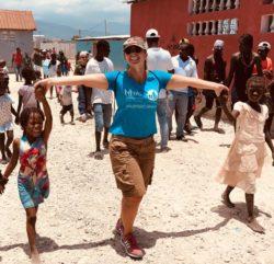 Matilde, partecipante al Campus in Haiti