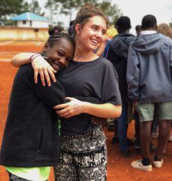 Sophie, partecipante al Campus in Haiti