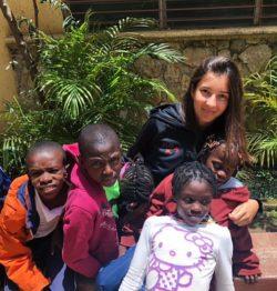 Alba, 19 anni, partecipante al Campus in Haiti