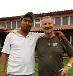 Giovanni, padrino e partecipante al Campus in Guatemala