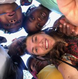 Chiara, 21 anni, partecipante al Campus in Haiti