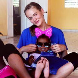Rachele, partecipante al Campus in Haiti